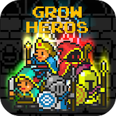 Grow Heros - Idle Clicker Rpg