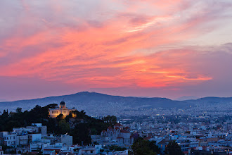 Photo: Here's a #SunsetSaturday photo I took while I was in Athens a couple of years ago. Enjoy!