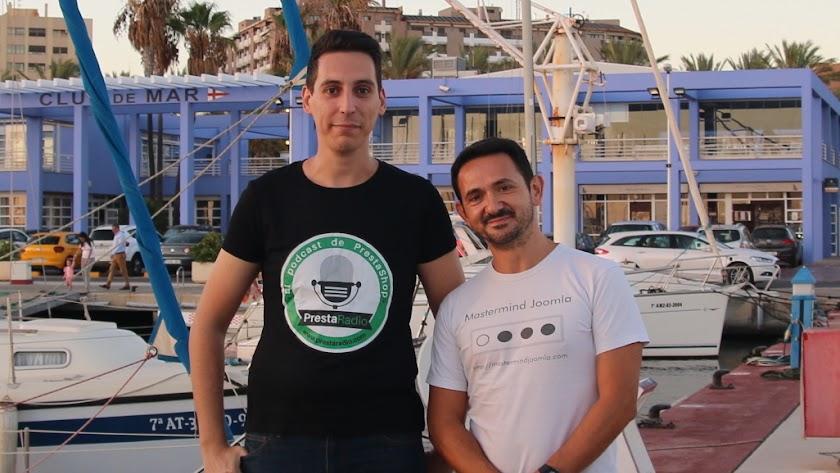 Antonio Torres y Carlos Cámara, en Almería