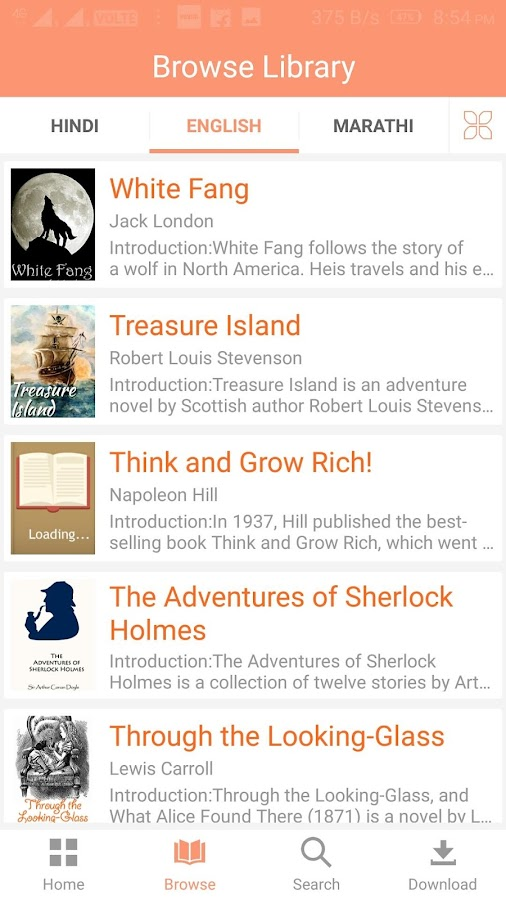 eBook Reader - Your Free eBook Library- screenshot