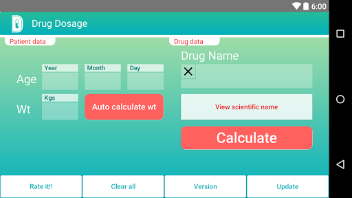 Drug Dosage Calculations