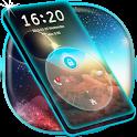 Neon Blue HD Locker theme icon