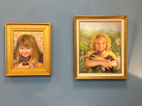 Photo: Oil paintings by Sydelle Sher Art exhibition at Weissman Center