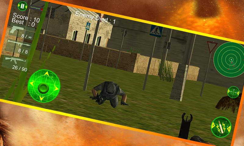 android City Commando Counter Strike Screenshot 4