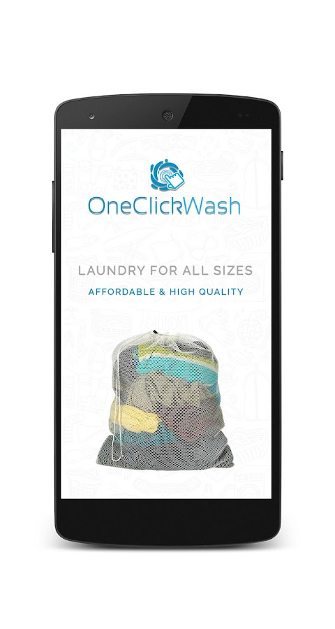 OneClickWash - Laundry Service- screenshot