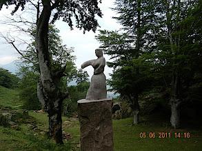 Photo: Statuette réalisée par Stéfan