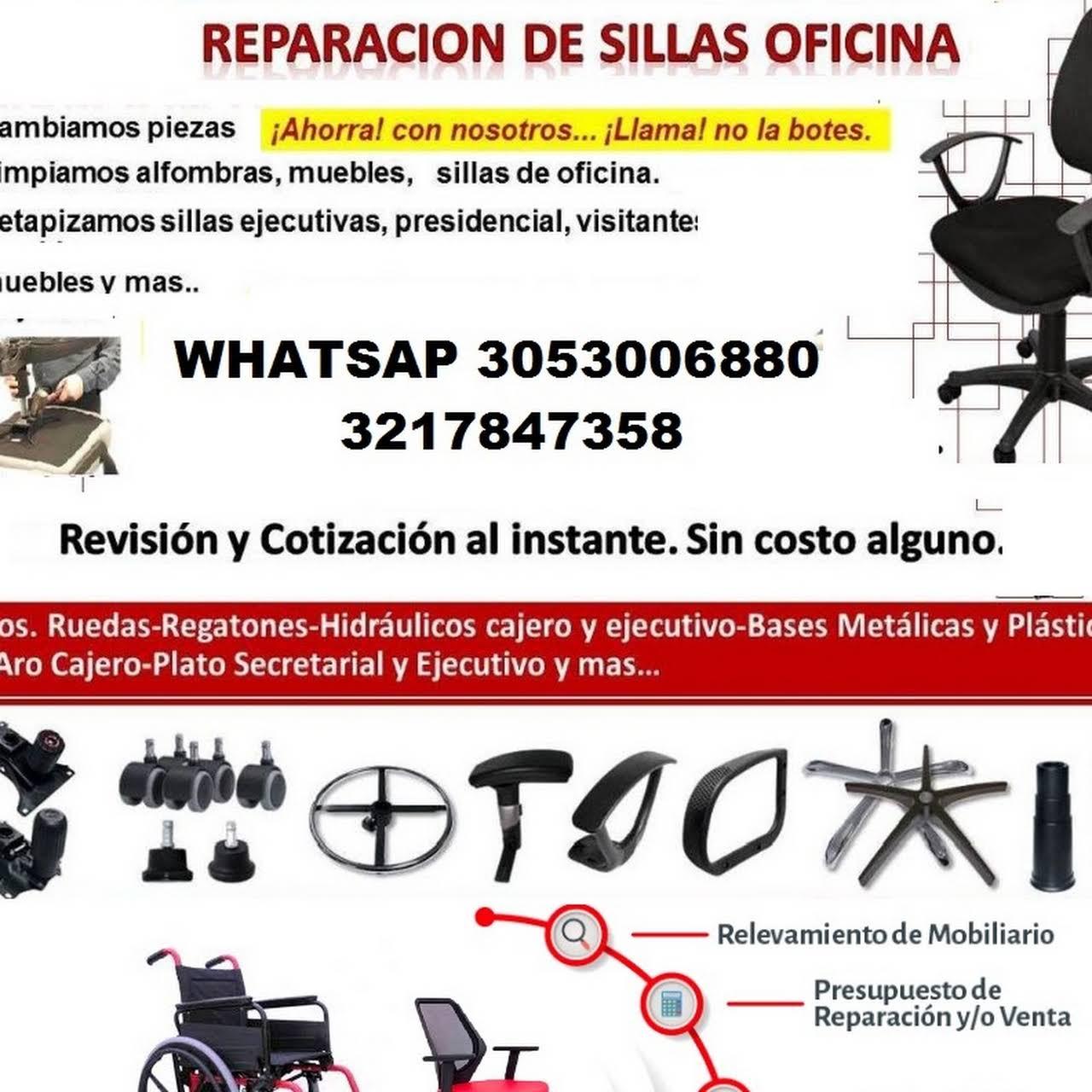 REPARACION DE SILLAS OFICINA MANTENIMIENTO EN CALI - Tienda de ...