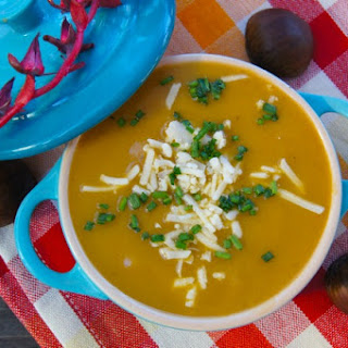 Cream of Chestnut-Potato Soup