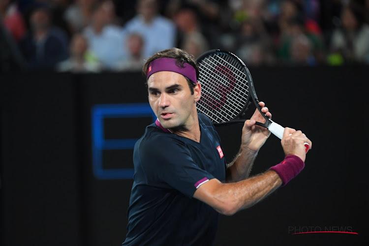 """Roger Federer tevreden na eerste wedstrijd: """"Hele uitdaging om op mijn leeftijd nog terug te keren"""""""