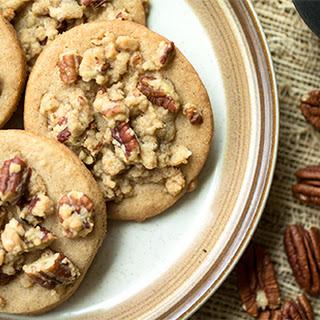 Pecan Streusel Spice Cookies