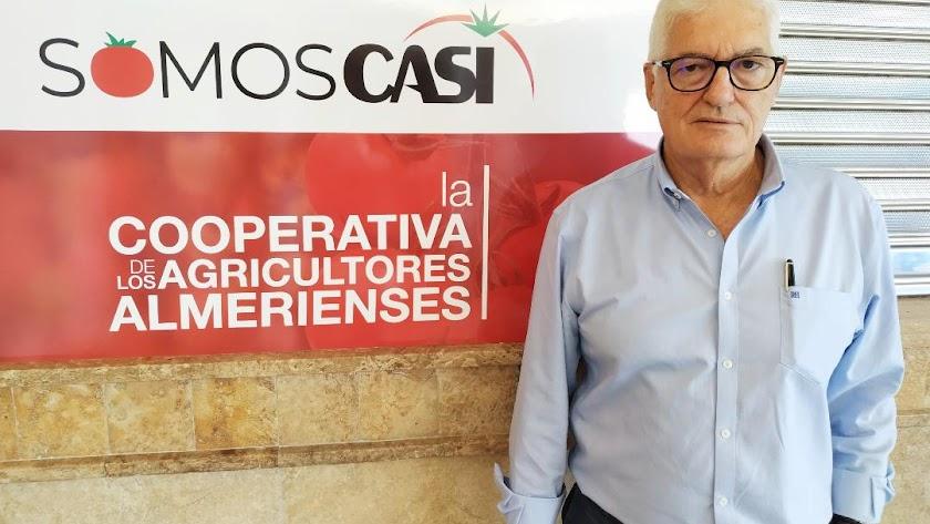 Francisco López  ha iniciado esta semana su actividad con la cooperativa CASI.