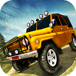 OffRoad 4x4 Jeep Hill Driving Icon