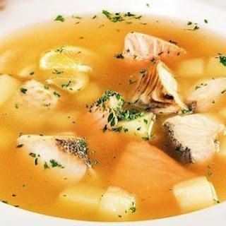 Fresh Salmon Soup Recipes.