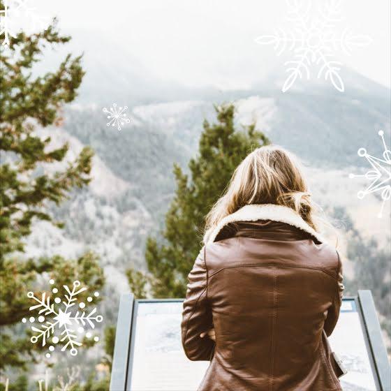 Winter Snowflake - Instagram Post Template