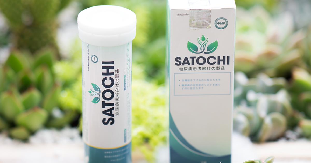 Satochi giải pháp tiểu đường lý tưởng cho người tiêu dùng