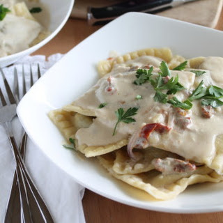 Garlic Sun-dried Tomato Cream Sauce