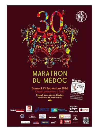 affiche-marathon-du-medoc-2014-13-septembre-chateau-dutruch-grand-poujeaux-anthonic-jean-baptiste-cordonnier