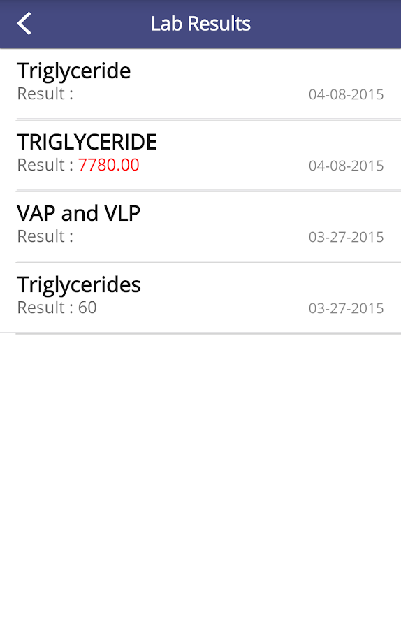My Health Records- screenshot