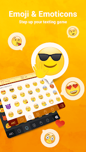 Facemoji Keyboard + GIFs screenshot 0