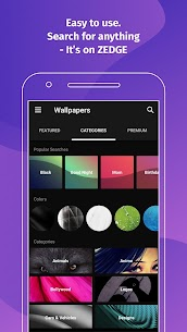 ZEDGE Pro Wallpapers Ringtones Mod APK (Purchased) 6.8.20 3