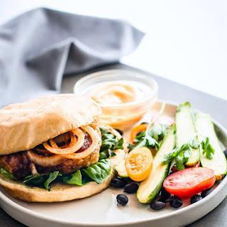 Grilled Adobo Chicken Burgers {Gluten Free}