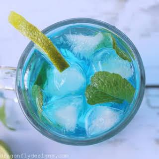 Blue Curacao Mojito.