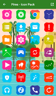 Pires - Icon Pack Screenshot