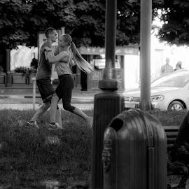 dance by Dušan Gajšek - Black & White Street & Candid
