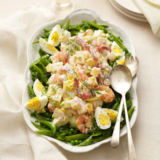 Shrimp Salad with Spring Pea Mix