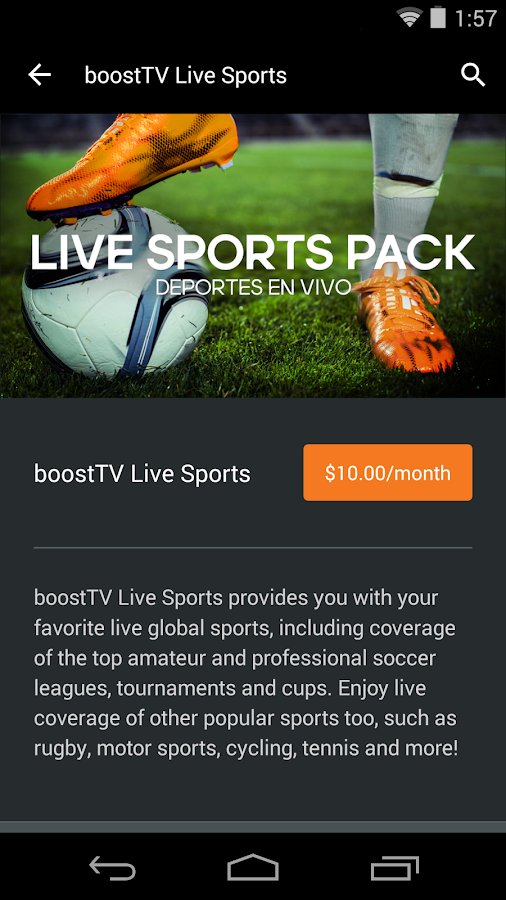 boostTV- screenshot
