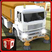 Road Cleaner Truck Simulator