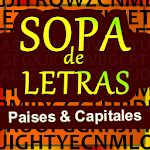 Sopa de letras de Países Icon