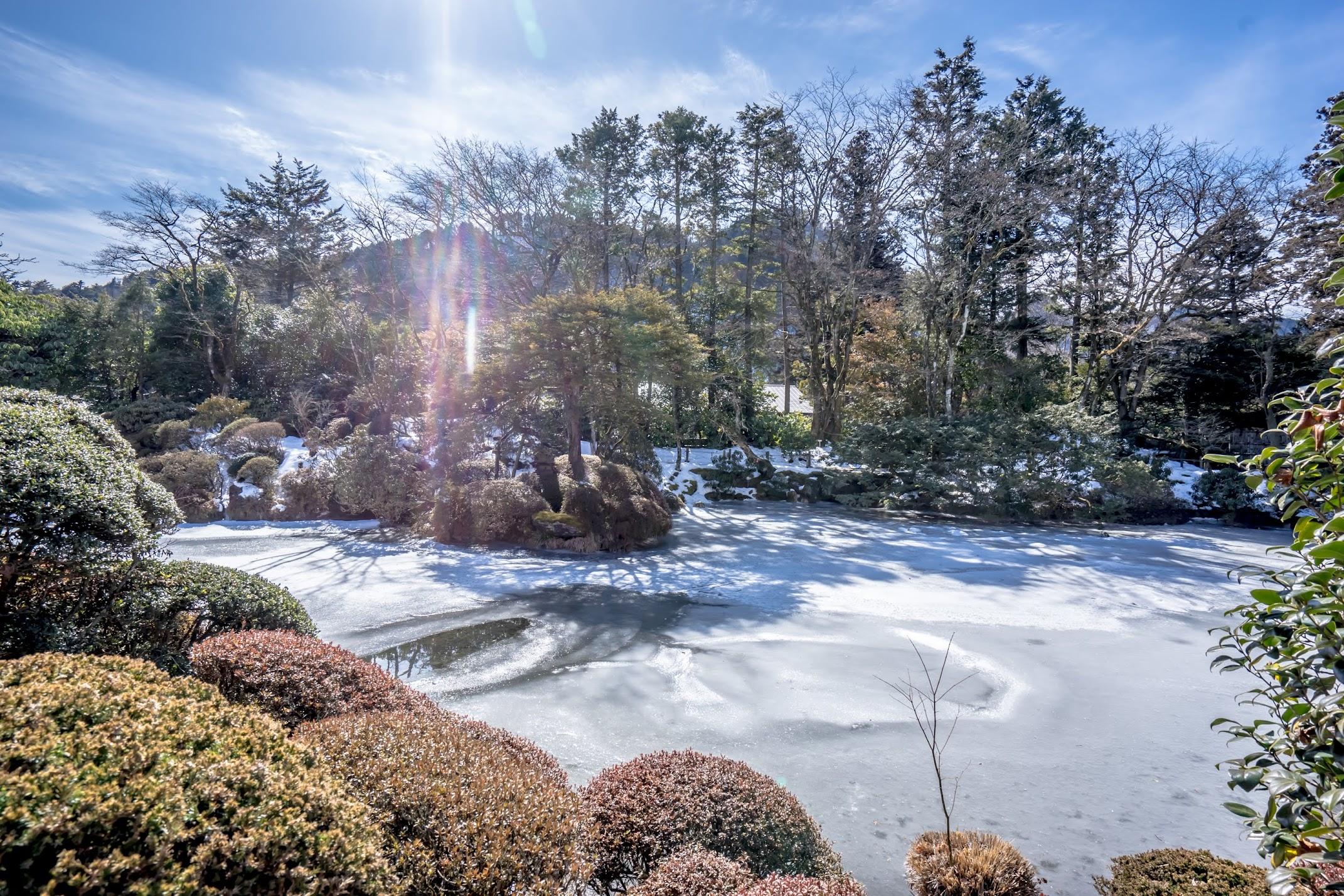 Nikkosan Rinno-Ji Temple Shoyoen garden1