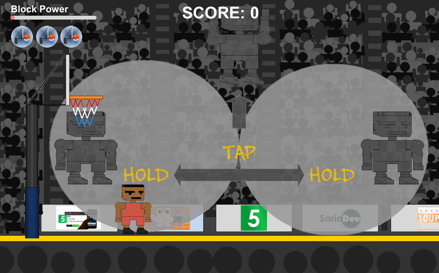 Rejected Basketball- screenshot