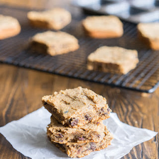 Secretly Healthy Cookie Dough Bars
