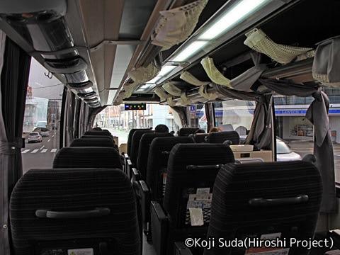 函館バス「高速はこだて号」 T3267 車内_03