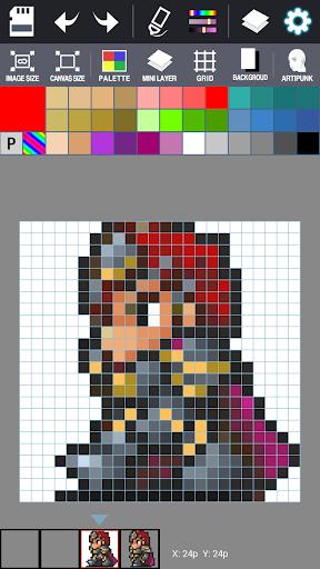 Dot Maker - Pixel Art Painter screenshot 4