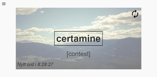 latinsk ord for varsel