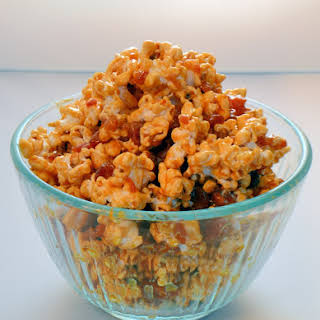 Salted Caramel and Bacon Popcorn.