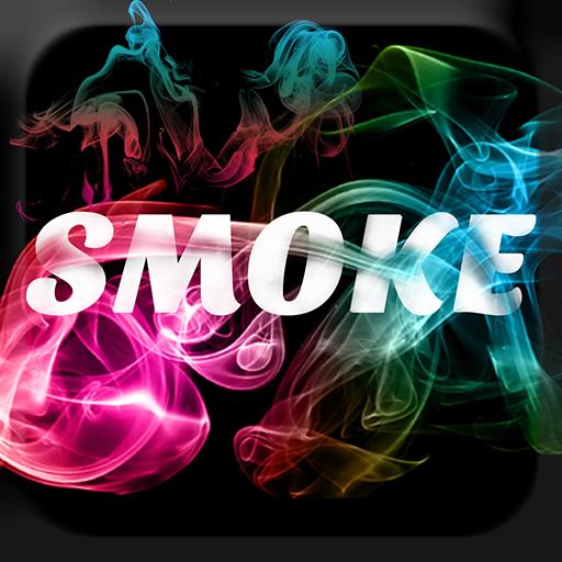 Smoke Effect Name Art 3D icon
