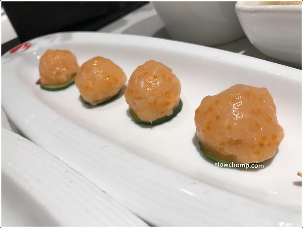 Hai di lao hot pot vivocity for Fish ball with roe