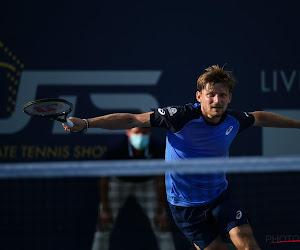 David Goffin wint opnieuw in de Ultimate Tennis Showdown en doet zo een goede zaak in de stand