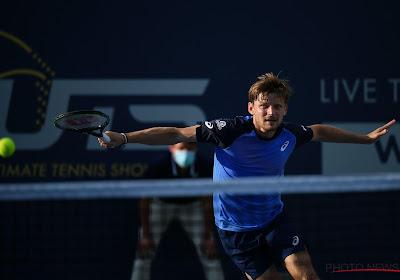 David Goffin verliest van Tsitsipas in halve finales Ultimate Tennis Showdown