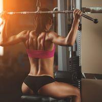 schöne Körper mit personal trainer