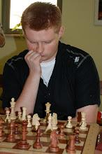 Photo: Arkadiusz Korbal - zwyciezca turnieju A