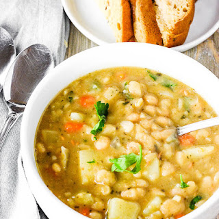 Vegan White Bean Soup Recipe