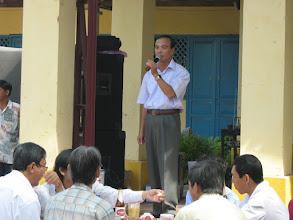Photo: Thầy Nguyễn Văn Hạnh, cựu Hiệu Trưởng