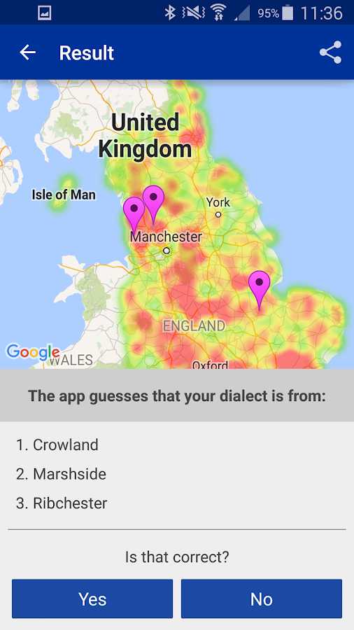 English Dialects- screenshot