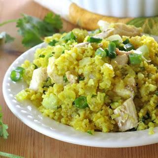 Curried Cauliflower Rice.