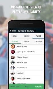 Ligas App - náhled